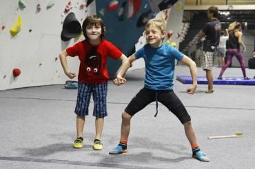 Sportovní kurz lezení pro děti a mládež ve věku 9-18 let