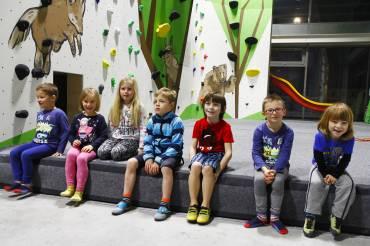 Odpolední kurzy lezení pro děti a mládež ve věku 4-18 let