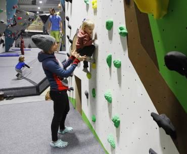 Dopolední lezení pro maminky s dětmi